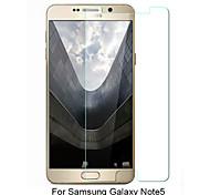 asling® 0.26mm abgerundete Kante transparent 9h vorgespanntem Glas Membran Displayschutzfolie für Samsung Galaxy Hinweis5 (5,7 Zoll)