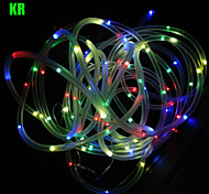 King Ro 12M 100psc Christmas Solar String Lights Outdoor Waterproof Holiday Lights(Fn0043-Multi-color)