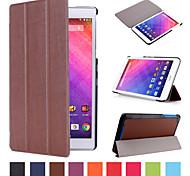 Caja de cuero de la PU patrón triple desplegable de alta calidad de 8 pulgadas para Iconia Acer One 8 b1-820 (colores surtidos)