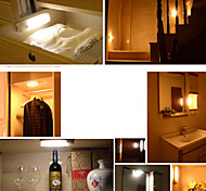 ONEFIRE Wireless PIR Motion Sensor LED Warm Light Color Cabinet Wardrobe Sensor Lamp