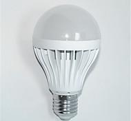 1 Stück JS Dekorativ LED Kugelbirnen A60(A19) E26/E27 7W 560 LM 2800-3200K   6000-6500K K 14*SMD 3535 Warmes Weiß / Kühles Weiß AC 85-265