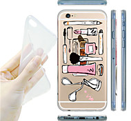 MAYCARI® Better Tools for Beauties Transparent Soft TPU Back Case for iPhone 6 Plus