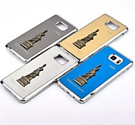 Statue of Liberty The New Metal wire Drawing Case Cover for Samsung Galaxy S6 /S6edge plus