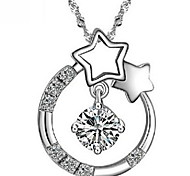 WH Woman Wishing Star Necklace