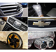Car Stickers Car Body Is Reflective Of Automotive Supplies Crystal Diamond Car Decals Within Diamond Stickers