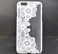 Vine Flower Pattern PC Material Phone Case for iPhone 6