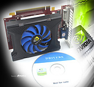 NVIDIA GT210 1024M GDDR3 64bit PCI Express X16 Graphics Card - Red +Blue+Black