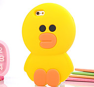 Cute Little Yellow Duck Stereo Silicone Cases for iPhone 6 Plus/iPhone 6S Plus(Assorted Colors)