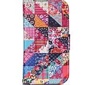 Suihua Pattern PU Leather Case with Card Slot and Stand for Samsung Galaxy S4 mini/S3mini/S5mini/S3/S4/S5/S6/S6edge+