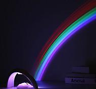 yobo arc RGB LED projection veilleuse automatiquement coupé après 10 minutes (4AAA / usb, adaptateur inclus)