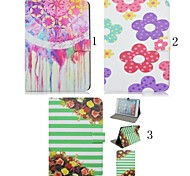 7.9 Inch Flower Pattern High Quality PU Leather Case for iPad Mini 4(Assorted Colors)