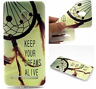 For Asus Case Ultra-thin / Pattern Case Back Cover Case Dream Catcher Soft TPU ASUS