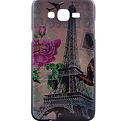 Transmission Tower Pattern PC Material Cell Phone Case for Samsung Galaxy J1/J5/J7
