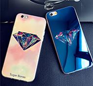 Für iPhone 5 Hülle Hüllen Cover Muster Rückseitenabdeckung Hülle Zeichentrick Weich Silikon für iPhone SE/5s iPhone 5