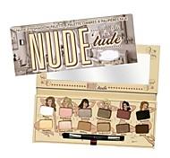 12 Paleta de Sombras de Ojos Seco Paleta de sombra de ojos Polvo Normal Maquillaje de Diario / Maquillaje de Fiesta