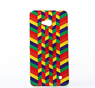 Polychrome Minigaga Pattern TPU Soft Case for Nokia N640