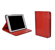 Solid Color Crocodile Skin Pattern PU Leather Case Cover for iPad Mini 4(Assorted Colors)