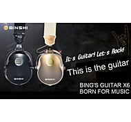BINSHI BS-X6 Hi-Fi Head-Mounted DJ Rock Music Fashion Headphones