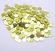 Redondas confeti-cft064 5mm bellas y deslumbrantes ventas calientes