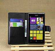 Personality Litchistria PU Left Open The Package Card Mobile Phone Holster Nokia Lumia 925