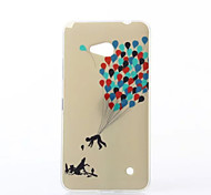 Parachute of Balloon Pattern TPU Soft Case for Nokia N640