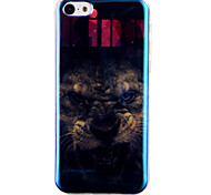 Lion Pattern Blu-ray  IMD Cell Phone Case for  iPhone 5C
