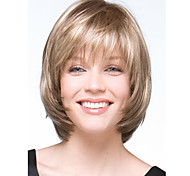 Women's Fashion Short Hair Wig Top Quality with Full Bang Best Selling