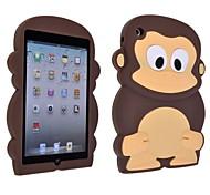 3D Monkey Silicone Soft Cover Case for iPad Mini 3/2/1