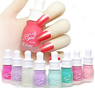 6PCS Matte Nail Polish Nail Polish Tasteless Candy-Colored Matte Nail Polish