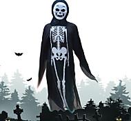 trajes de Halloween rosto redondo fantasias de fantasmas