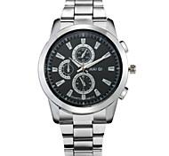 Fashion Men's High Quality Stainless Steel Quartz Dress Watch Wrist Watch Cool Watch Unique Watch