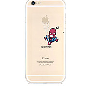 Catch Apple Pattern TPU Material Soft Phone Case for iPhone 6/6S
