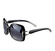 Sunglasses Women's Classic / Elegant / Modern / Fashion Oversized Black / White Sunglasses Full-Rim
