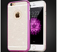 High Quality Electroplating with Diamond Back Cover for iPhone 6 (Assorted Colors)