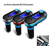 12v ~ 24v auto mp3 kit wireless trasmettitore fm giocatore del bluetooth con microfono, mano chiamate gratuite, usb sd tf card
