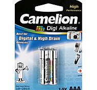 Camelion Digi Alkaline Primary Batteries Size AAA (2pcs)
