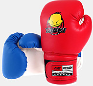 Boxing Gloves Mittens Kid's Wearable / Shockproof / High Elasticity / Breathable / Lightweight Boxing Synthetic Leather Red / Blue
