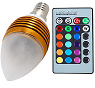 5W E14 Luci LED a candela C35 3 Illuminazione LED integrata 400 lm Colori primari Intensità regolabile / Controllo a distanza / Decorativo