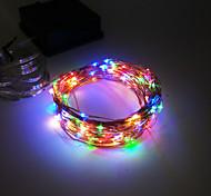 rey ro nueva 12m luz manera alambre de cobre solar 100LED navidad impermeable luz del partido