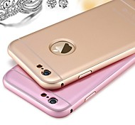 High Quality Protective Metal Bumper Frame with Frosted Back Cover for iPhone 6 plus (Assorted Colors)