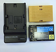 US 8.4V LP-E6 Home Charger +(1PCS)Battery  for Canon E0S 5D Mark Ⅱ  5D Mark III 7D 7D Mark II   6OD 6D  70D