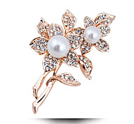 The Explosion Of New Jewelry Diamond Pearl Brooch