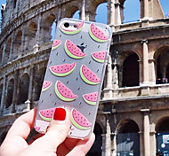 MAYCARI® The Delicious Watermelon Transparent TPU Back Case for iPhone 6/iphone 6S