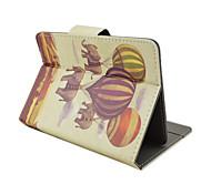 Tiermuster Qualitäts-PU-Leder mit Standplatzfall für 7-Zoll-Tablet-Universal-