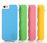 New Style Silicon  Fashion Exotic Mobile phone Case for iPhone5S/5 Assorted Color