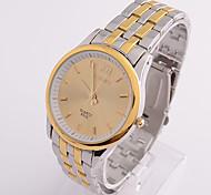 Men's Fashion Shining Steel Strip Waterproof Wrist watch