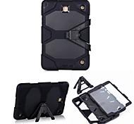 hybride zware beschermhoes met kickstand schokbestendig voor Samsung Galaxy Tab een 9,7 / 3 tab 10.1