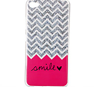 Wave smile Pattern TPU Phone Case for Lenovo S90
