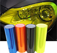 LORCOO™ 60cm*30cm Car Light Membrane Translucent Scrub Rear Light Film(Free Gift Edge Squeegee+Knife)