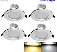 Luci a sospensione 6 SMD 5730 YouOKLight 3W Decorativo 300 LM Bianco caldo / Luce fredda 4 pezzi AC 85-265 V